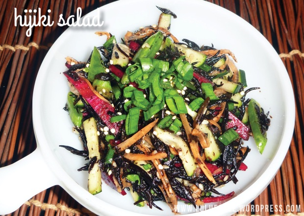 luluesque-hijiki salad