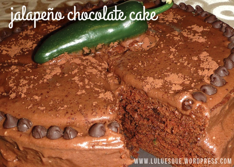 luluesque-jalapeno chocolate cake