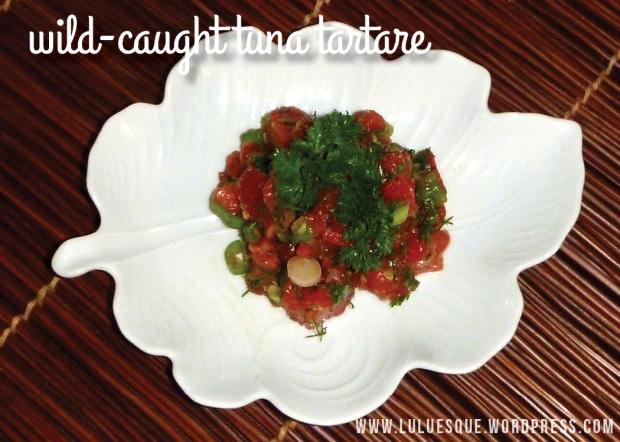 luluesque-wild-caught tuna tartare