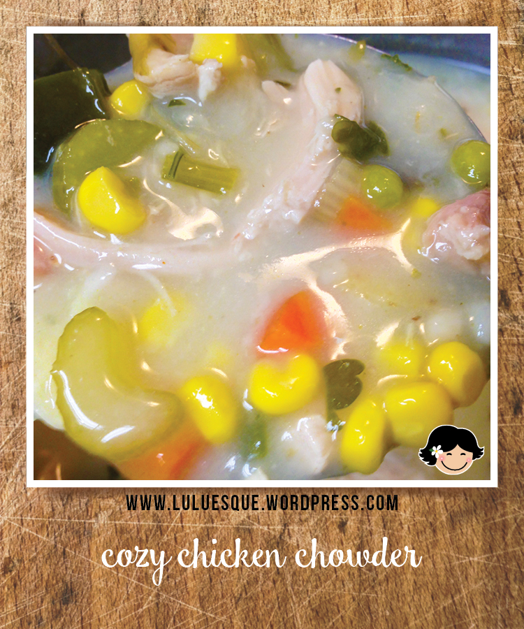 luluesque_cozy chicken chowder