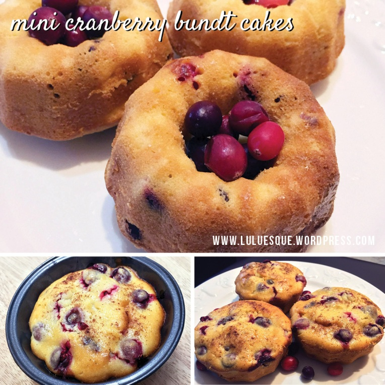 luluesque-cranberry bundt cakes