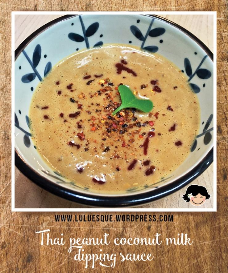 luluesque_Thai peanut coconut milk dipping sauce
