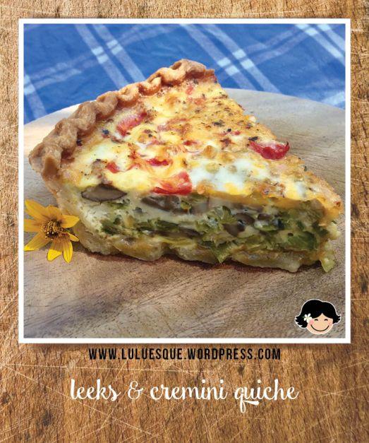 luluesque_leeks-and-cremini-mushroom-quiche