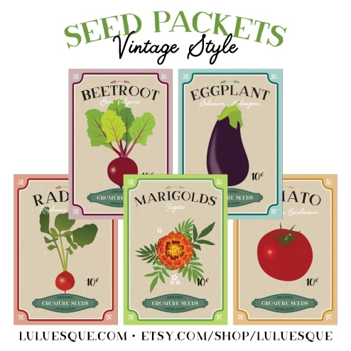 Etsy-Wordpress-Luluesque_Vintage Style Seed Packets-1