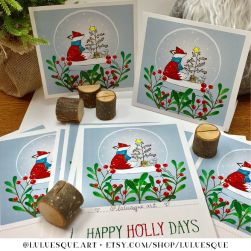 Luluesque-Etsy-Scandinavian-Nordic-Fox-Christmas-Holiday-Card3