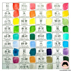 Luluesque_Kuretake-Gansai-Tambi_Japanese Watercolor_Review4